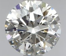 Round Brilliant   0.56ct   D IF 3EX   GIA- original image -10x #2303