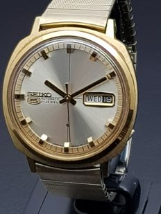 Seiko 5 gold – Automatic men's watch – Japan 1970s