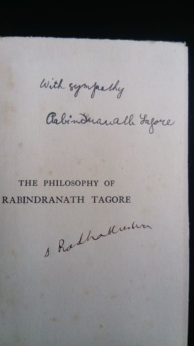 S. Radhakrishnan - The Philosophy of Rabindranath Tagore - 1918