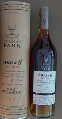 Tessendier & Fils Cognac Park Chai No 8 Single Barrel Petite Champagne Private Collection - 1 of 240 bottles - 70cl