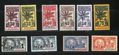 Senegal 1883-1903 - French Colonies - between Yvert 8 and 52 and 44, 45, 46.