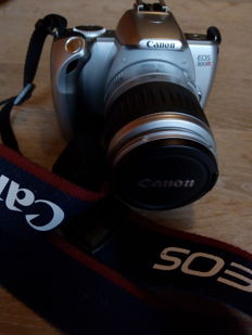 CANON EOS 300V 28-90 CANON lens as new cond