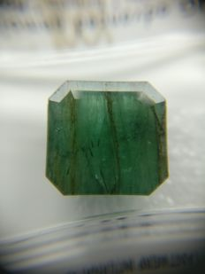 Emerald Green 8.54 ct    No Reserve Price