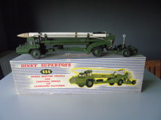 "Dinky Supertoys - Scale  1/48 - ""Missile Erecting Vehicle with Corporal Missile and Launching Platform"" No.666"