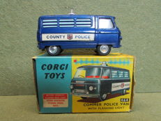 Corgi Toys - Scale 1/43 - Commer Police Van with Flashing Light No.464