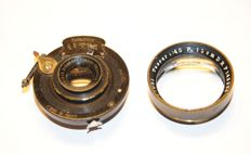 2 lenses, Zeiss Ernemann See pictures and description