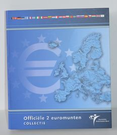 Europe - various commemorative 2 euro coins (54 coins) in packaging