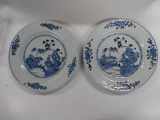 Two plates - China - 18th century