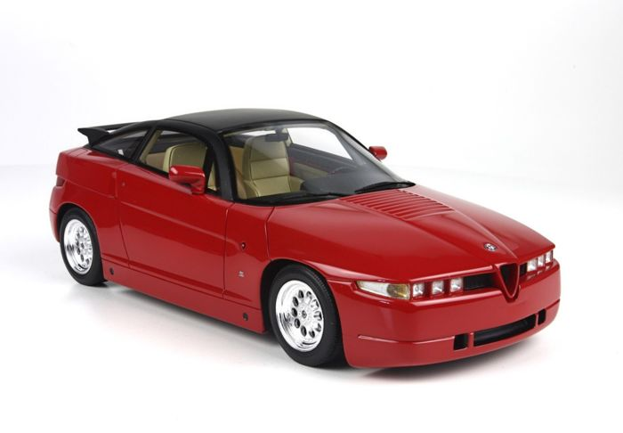 Alfa Romeo Zagato >> Top Marques Collectibles Scale 1 18 Alfa Romeo Sz