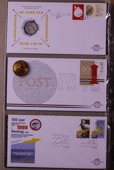 The Netherlands 1999/2012 - Complete collection FDCs in 2 Davo albums