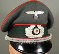 Artillery Officer Visor Hat