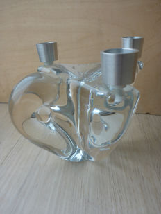 Schneider France - crystal candle holder