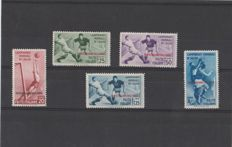 Italy, 1934 - Italian Aegean Colonies - Football World Cup - Complete Series - Ordinary Post - Sassone No. S13