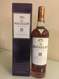 Macallan 1992 18 years old - Sherry wood - OB