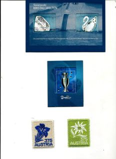 World - Selection of stamps from European countries and Israel in stock books
