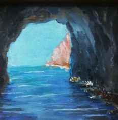 Unknown Artist (20th century) - Veduta di Capri