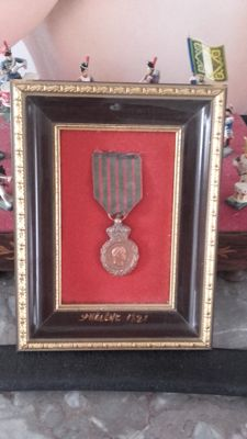 Medal of St Helena 1821 Napoleon 1st campaigns from 1792 to 1815.