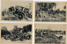 Italy - 1930 - 26 Fiat Trattore Pavesi postcards