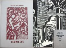 Masereel: Jeunesse + E.Rolland: Peter and Lutz with 22 or 16 woodcuts by Masereel, 1927 (1889-1972)