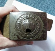 Africa Korps Tropical Belt and Buckle