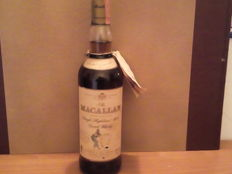 Macallan 7 years old Armando Giovinetti