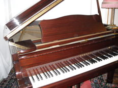YAMAHA G2J Grand Piano - glossy mahogany - serial number: 3530273 - bought in 09/1982