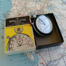 New Old Stock 1x vintage BREITLING Split Stopwatch. Rally / Race Timer. 1970´s - 1980´s.