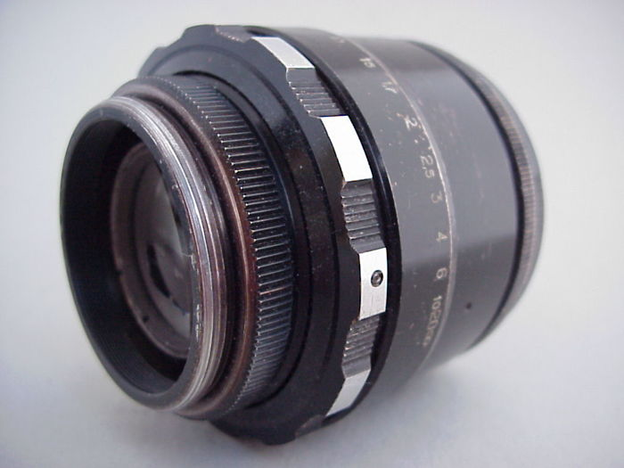 Three Russian lenses, namely a Helios-44-2 2/58 and twice an