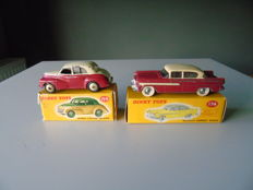 Dinky Toys - Scale 1/43 - Lot Morris Oxford Saloon and Hudson Hornet Sedan Nos.159 and 174