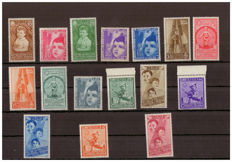 Kingdom of Italy, 1937 - Summer Colonies, Complete Series - Sassone No.  406-415 and A100-A105