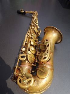 CG Conn Vintage alto saxophone, from the 50's, plays well