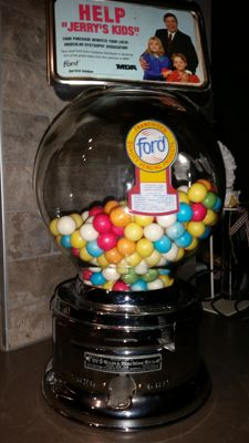 Original Ford Gumball machine from the fifties