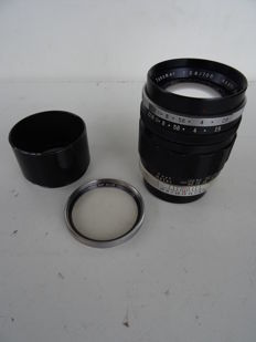 Lens Asahi Takumar 2.8/105 mm + 1 filter + lens hood – lenses in good condition