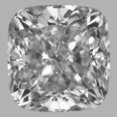 0.70ct Cushion Modified  Diamond F VS2  GIA-Original Image -10X-#2287