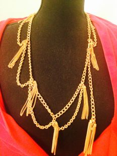 Napier RUNWAY gold tone necklace