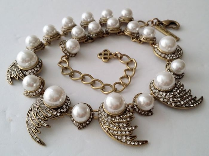 Oscar De La Renta - Simulated Pearl Necklace