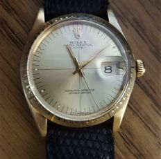 "Rolex - Oyster Perpetual 1512 ""Zephyr"", solid 14 kt gold - 1512 - Unisex - 1970-1979"