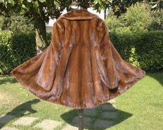 Mink fur coat, fur mink nerz jacket fourrure, new condition (never used)