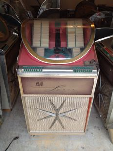 "Jukebox AMI ""LYRIC"" XJGA 100 from 1961"