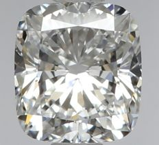 0.50ct Cushion Modified   Brilliant Diamond  D VVS1  IGI  -Original Image-10X - Serial# WDI-318