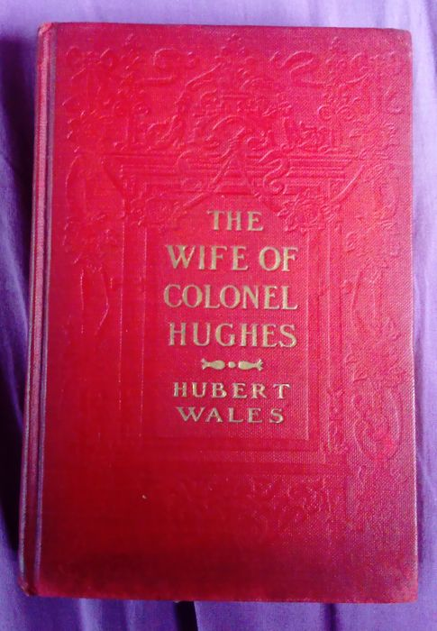 Hubert Wales - The Wife of colonel Hugues - 1910