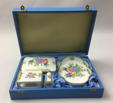 Herend porcelain - Tobacco presentation set