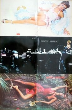 Roxy Music - Lot of 9 albums (Polydor / EG 1972-1982) - mostly NL press