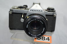 Pentax ME camera with 1:2 50mm pentax-M objective