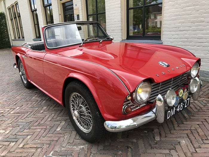triumph tr4 roadster overdrive 1965 catawiki. Black Bedroom Furniture Sets. Home Design Ideas
