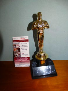 Woody Allen, hand signed statue Oscar- Certificate of authenticity