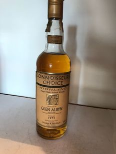 Glen Albyn 1973 bottled 1998 - G&M Connoisseurs Choice