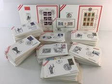 Austria 1963/1993 - collection 1,000 FDC