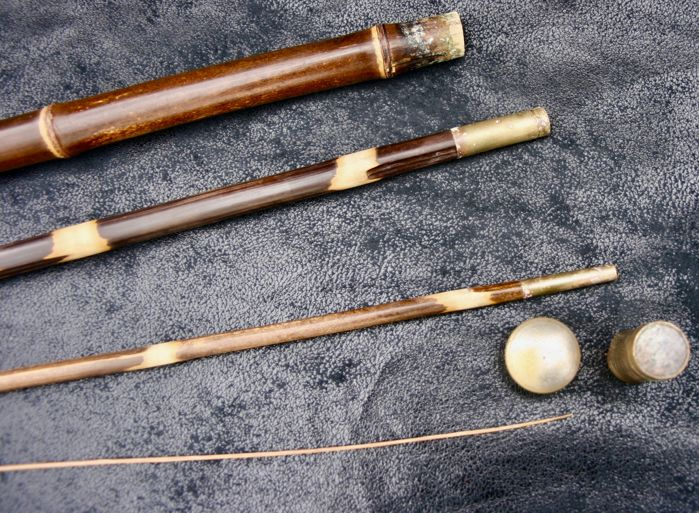 System cane here bamboo fishing rod with a head and for Fishing rod ferrules