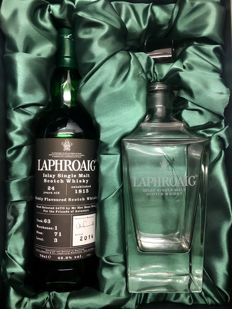 Laphroaig 24 years old - single cask no. 63 - OB
